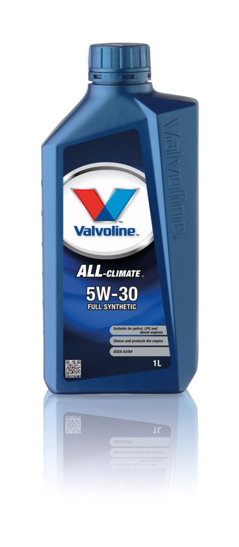 Масло моторное синтетическое Valvoline All Climate SAE 5w30 20л